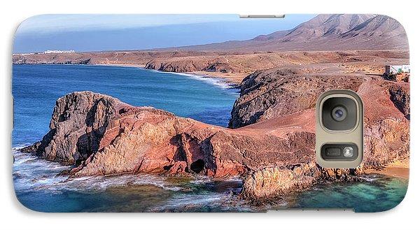 Playa Papagayo - Lanzarote Galaxy S7 Case by Joana Kruse