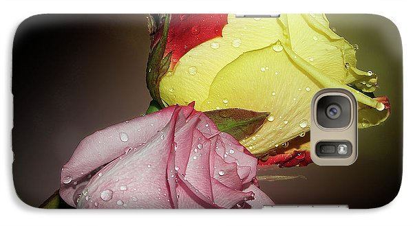 Galaxy Case featuring the photograph Roses by Elvira Ladocki