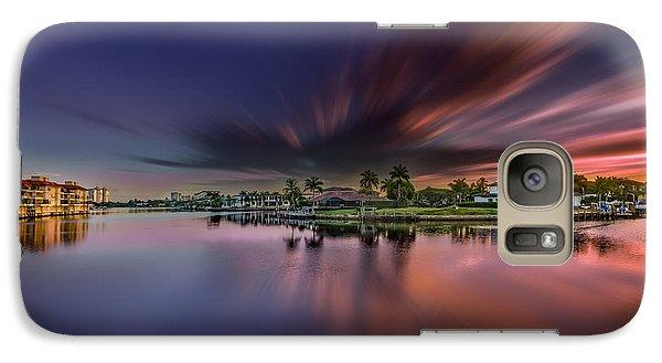 Sunrise At Naples, Florida Galaxy S7 Case
