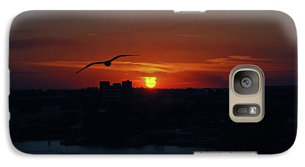 Galaxy Case featuring the photograph 6- Sunset by Joseph Keane