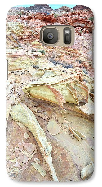 Galaxy Case featuring the photograph Valley Of Fire by Ray Mathis