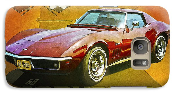 Galaxy Case featuring the photograph 68 Corvette by Kenneth De Tore