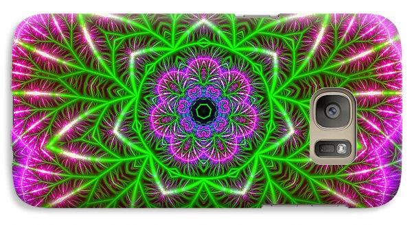Galaxy Case featuring the digital art 7 Beats Transition by Robert Thalmeier