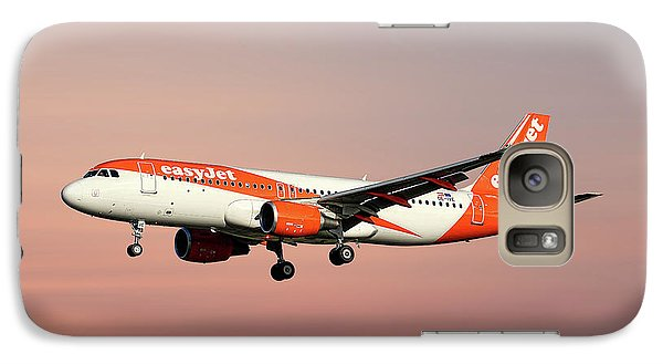 Jet Galaxy S7 Case - Easyjet Airbus A320-214 by Smart Aviation