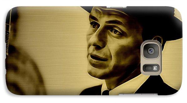 Frank Sinatra Art Galaxy Case by Marvin Blaine