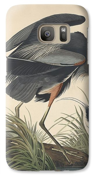 Great Blue Heron Galaxy S7 Case by Rob Dreyer