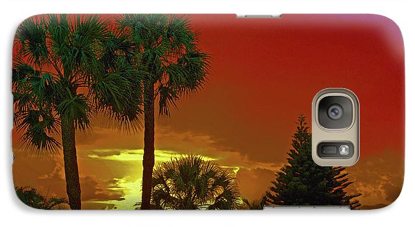 Galaxy Case featuring the digital art 7- Holiday by Joseph Keane
