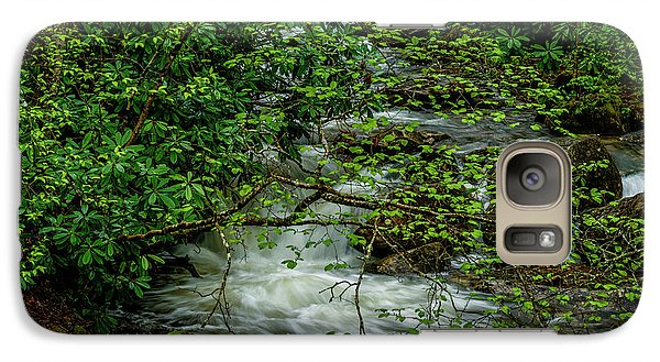 Galaxy Case featuring the photograph Kens Creek Cranberry Wilderness by Thomas R Fletcher