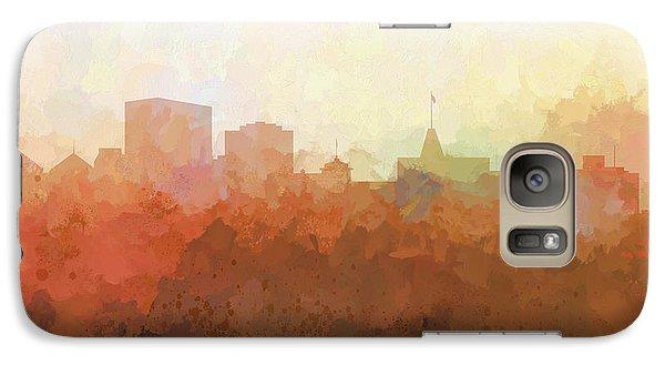Galaxy Case featuring the digital art Oakland California Skyline by Marlene Watson