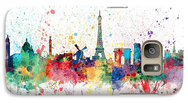 Paris France Skyline Galaxy S7 Case