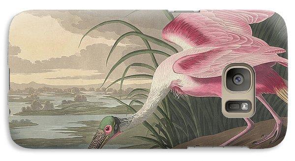 Roseate Spoonbill Galaxy S7 Case