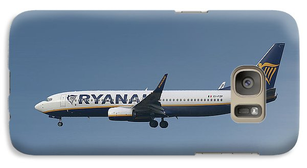Jet Galaxy S7 Case - Ryanair Boeing 737-8as  by Smart Aviation