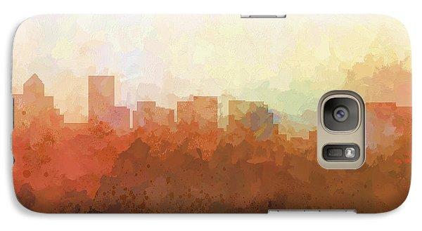 Galaxy Case featuring the digital art Salem Oregon Skyline by Marlene Watson