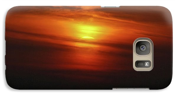 Galaxy Case featuring the photograph 7- Sunset by Joseph Keane