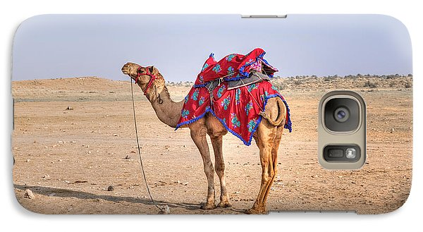 Thar Desert - India Galaxy S7 Case by Joana Kruse
