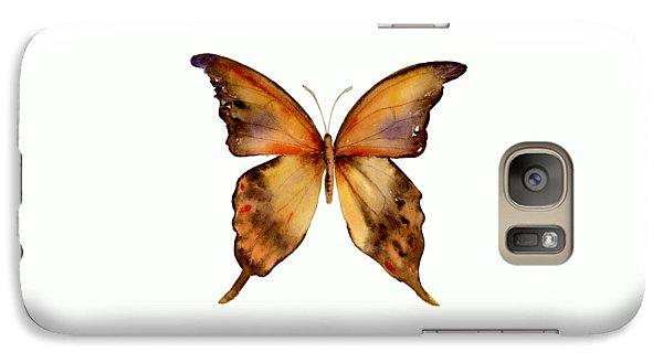 7 Yellow Gorgon Butterfly Galaxy S7 Case