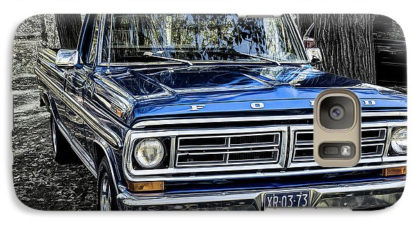 Galaxy Case featuring the photograph 73 Ford Pickup by Brad Allen Fine Art