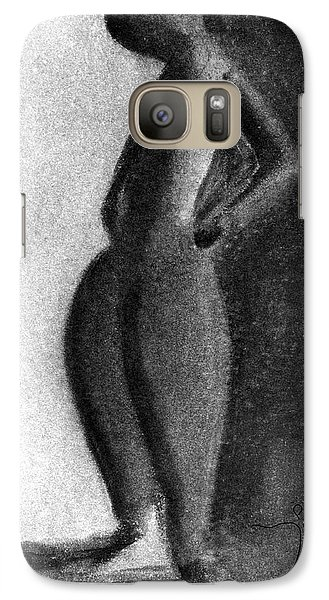 Galaxy S7 Case featuring the drawing . by James Lanigan Thompson MFA