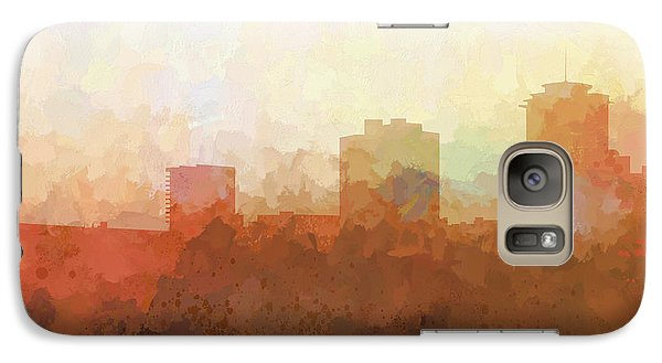Galaxy Case featuring the digital art New Orleans Louisiana Skyline by Marlene Watson