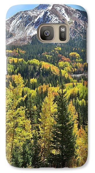 Galaxy Case featuring the photograph Red Mountain Pass by Ray Mathis