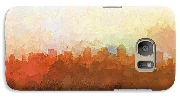 Galaxy Case featuring the digital art San Diego California Skyline by Marlene Watson