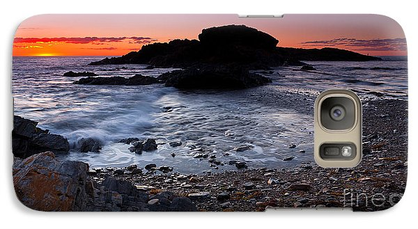 Galaxy Case featuring the photograph Second Valley Sunset by Bill Robinson
