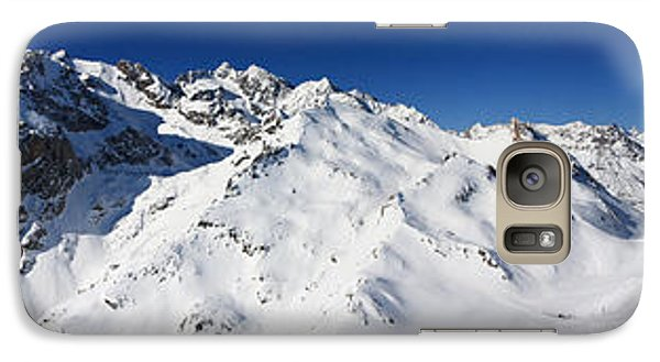 Galaxy Case featuring the photograph Serre Chevalier In The French Alps by Pierre Leclerc Photography