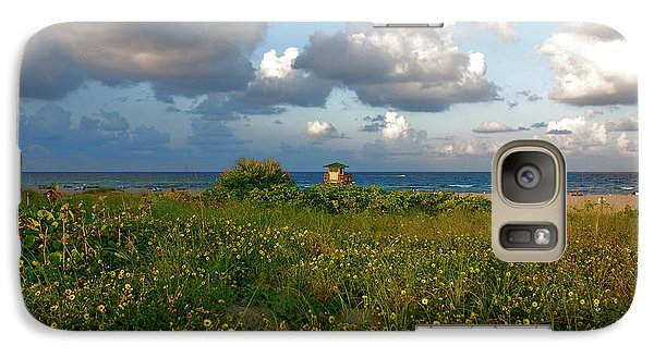 Galaxy Case featuring the photograph 8- Sunflowers In Paradise by Joseph Keane