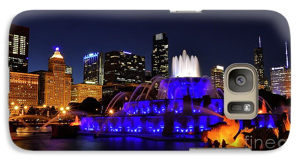 Galaxy Case featuring the photograph 911 Tribute At Buckingham Fountain, Chicago by Zawhaus Photography