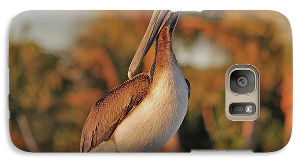 Galaxy Case featuring the photograph 9- Brown Pelican by Joseph Keane
