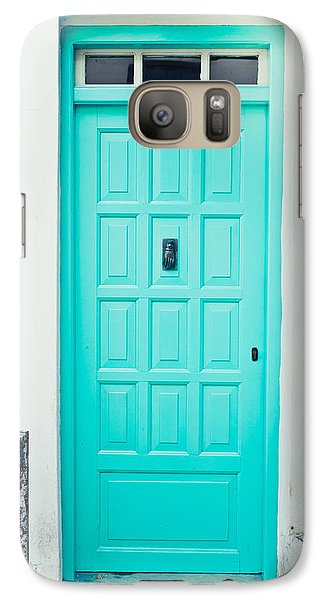 Front Door Galaxy Case by Tom Gowanlock