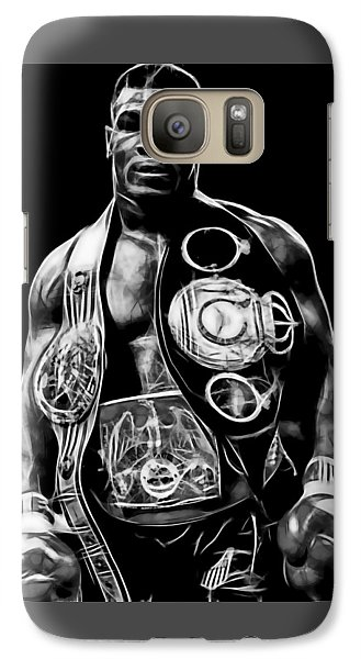 Mike Tyson Collection Galaxy Case by Marvin Blaine
