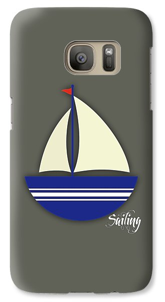 Boat Galaxy S7 Case - Nautical Collection by Marvin Blaine