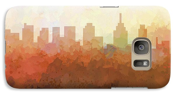 Galaxy Case featuring the digital art Philadelphia Pennsylvania Skyline by Marlene Watson