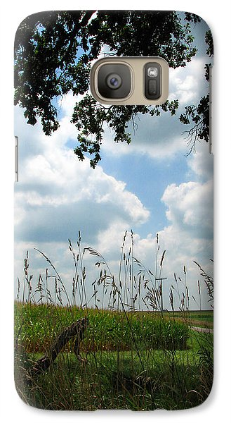 Galaxy Case featuring the photograph A Beautiful Day by Joanne Coyle