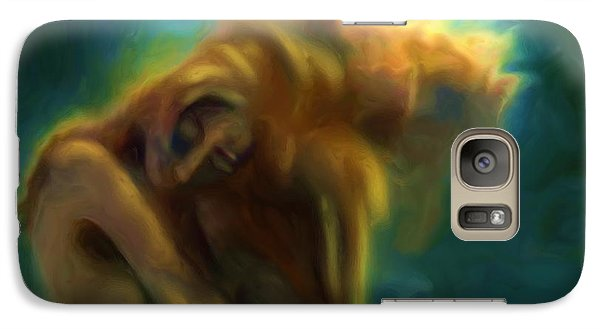 Galaxy Case featuring the painting A Beautiful Dream by Shelley Bain