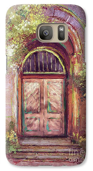 Galaxy Case featuring the digital art A Beautiful Mystery by Lois Bryan