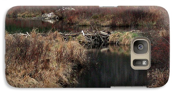 A Beaver's Work Galaxy S7 Case