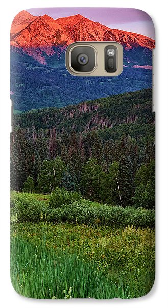 Galaxy Case featuring the photograph A Beckwith Sunrise by John De Bord