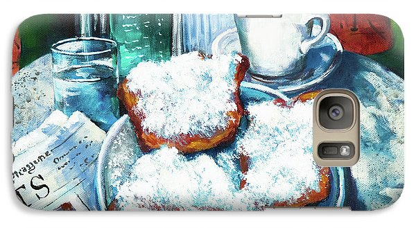 Food And Beverage Galaxy S7 Case - A Beignet Morning by Dianne Parks