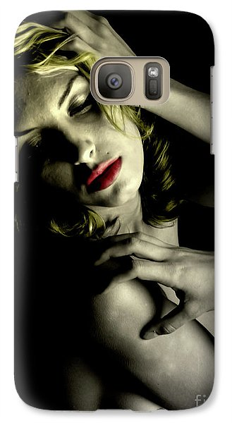 Galaxy Case featuring the photograph A Bouquet Of Drama  by Jacob Smith