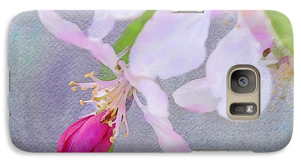 Galaxy Case featuring the photograph A Breath Of Spring by Betty LaRue