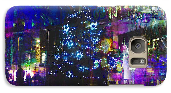 Galaxy Case featuring the photograph A Bright And Colourful Christmas by LemonArt Photography