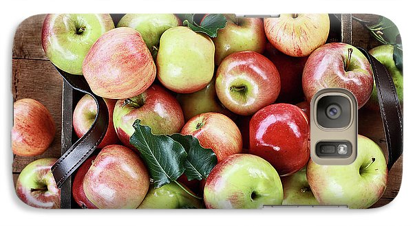 Galaxy Case featuring the photograph A Bushel Of Apples  by Stephanie Frey