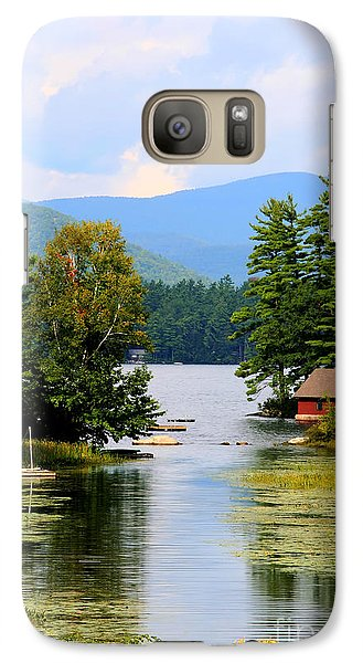 Galaxy Case featuring the photograph A Calm Day by Adrian LaRoque