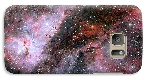 Galaxy Case featuring the photograph A Carina Nebula Pano by Nasa