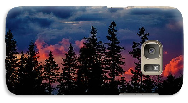 Galaxy Case featuring the photograph A Chance Of Thundershowers by Albert Seger