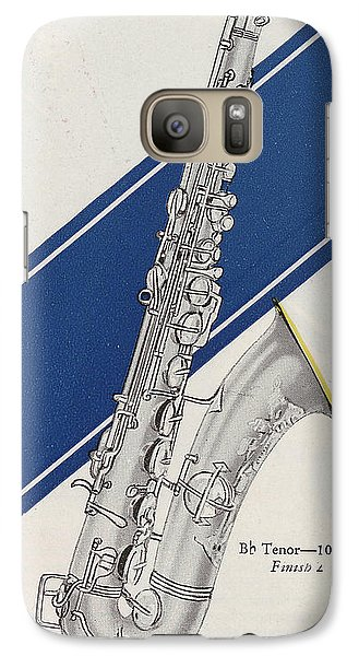 A Charles Gerard Conn Bb Tenor Galaxy S7 Case