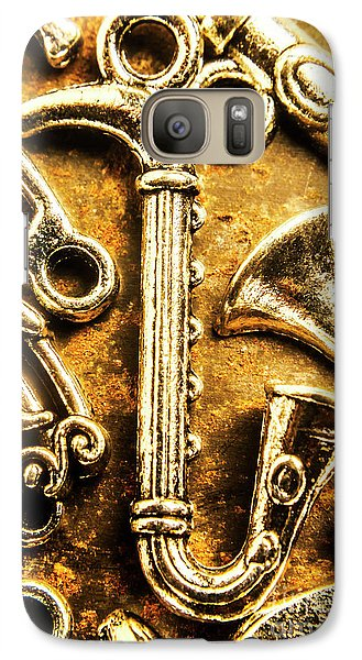 Saxophone Galaxy S7 Case - A Classical Composition by Jorgo Photography - Wall Art Gallery