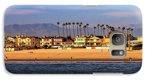 Galaxy Case featuring the photograph A Clear Day At The Beach by James Eddy